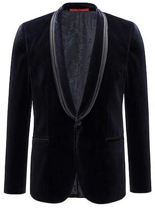 HUGO BOSS Cotton jacket in an extra-slim fit