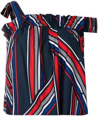 Tommy Hilfiger Tommy x Gigi striped bardot top