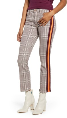 Mother The Insider Plaid Crop Pants