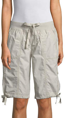 Calvin Klein Convertible Cargo Bermuda Cotton Shorts