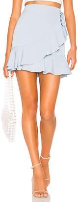 superdown Patricia Ruffle Wrap Skirt
