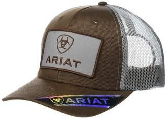 san francisco 8fab1 e5e01 Ariat Men s Logo Patch Oilskin Cap