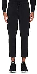 Dyne Men's Pisano Drawstring-Waist Crop Pants-Black Size L