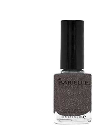 Barielle Silhouette, A Black-Gray with Shimmer Nail Polish 0.45 Fluid Ounces