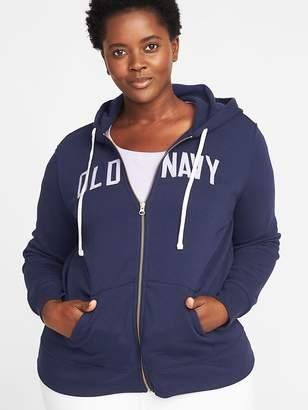 Old Navy Logo-Graphic Plus-Size Zip Hoodie