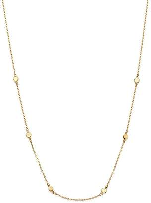 "Moon & Meadow Disc Chain Necklace in 14K Yellow Gold, 17"" - 100% Exclusive"
