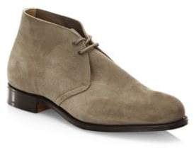 Church's Almond Toe Suede Chukka Boots