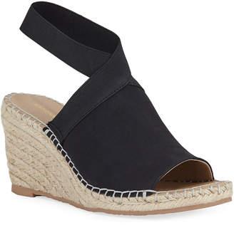 512acbe0caca Adrienne Vittadini Elastic-Strap Espadrille Wedge Sandals