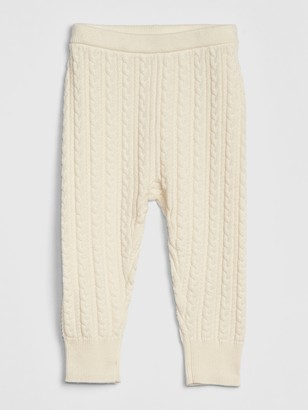 Gap Baby Cable-Knit Sweater Leggings