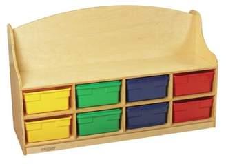Child Craft Childcraft Reading Bench with Storage Compartment Childcraft