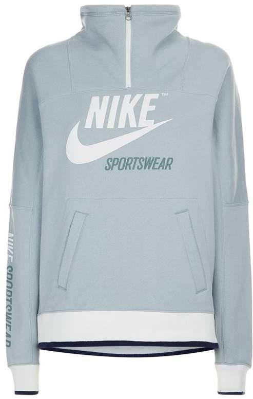 Archive Zip-Neck Sweatshirt