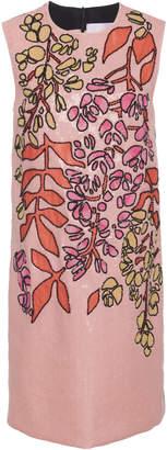 Carolina Herrera Sequin Embellished Shift Dress