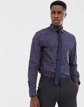 Jack and Jones Slim Fit Shirt With All Over Print