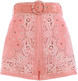 Zimmermann Heathers Bandana Short