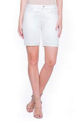 Co Liverpool Jeans Casey White Denim Shorts
