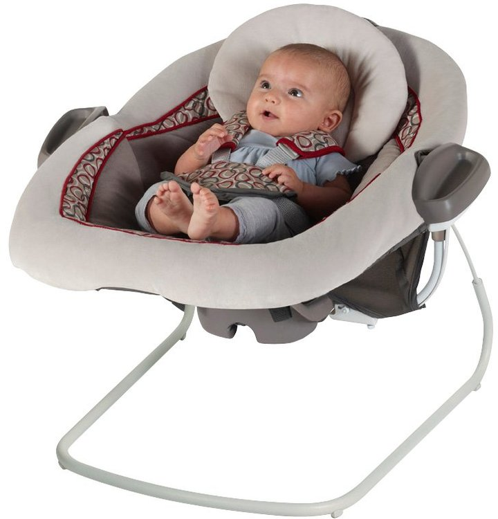 Graco DuetConnect LX Swing & Bouncer - Finley