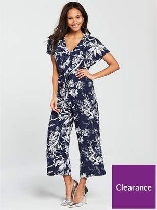 Warehouse Mono Fern Jumpsuit