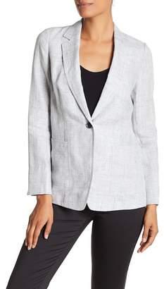 Lafayette 148 New York Alba Notch Collar Linen Jacket