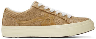 Converse Beige Golf le Fleur* One Star Sneakers