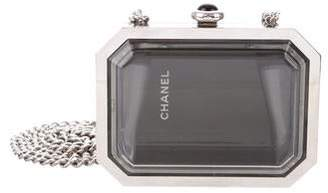 Chanel Premiere Plexiglass Watch Minaudiere