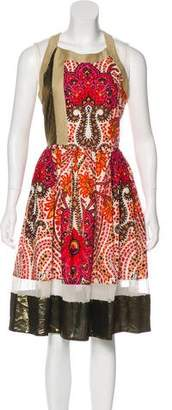Thakoon Floral Print A-Line Dress