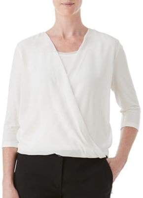 Olsen Three-Quarter Sleeve Top