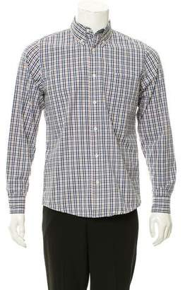 Jack Spade Plaid Button-Up Shirt