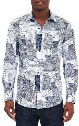 Men's Robert Graham Bhakti Sport Shirt $198 thestylecure.com