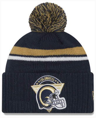 New Era Los Angeles Rams Diamond Stacker Knit Hat