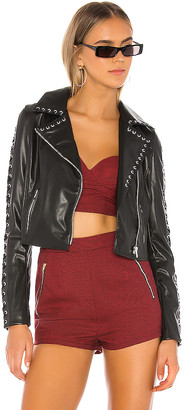 superdown Kiera Lace Up Jacket