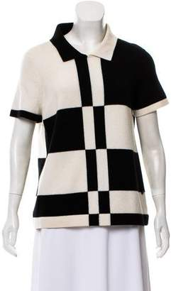 Chanel Colorblock Cashmere Sweater