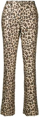 P.A.R.O.S.H. leopard tailored trousers