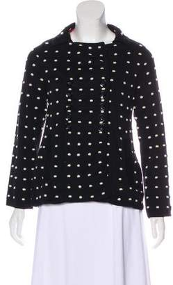 Marc by Marc Jacobs Double-Breasted Knit Jacket