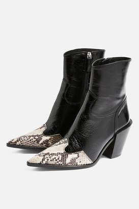 Topshop HOWDIE High Ankle Boots