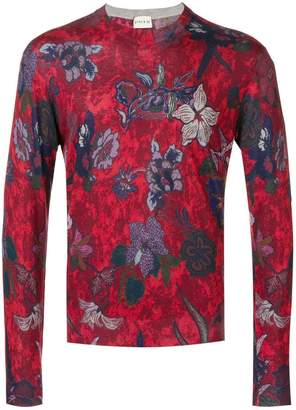 Etro floral print sweater