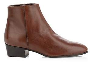 Aquatalia Women's Fuoco Leather Ankle Boots