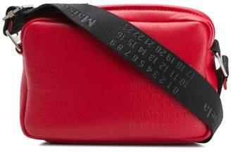 Maison Margiela embossed logo crossbody bag