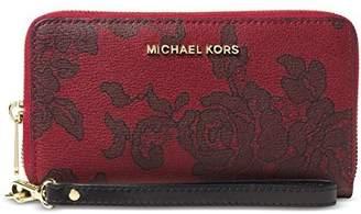 Michael Kors MICHAEL Women's Jet Set Large Phone Case Wallet