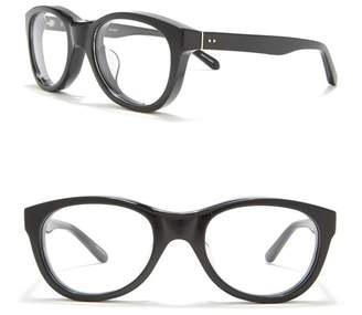 Linda Farrow 54mm Rounded Optical Frames