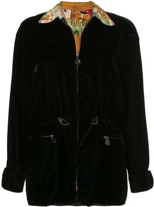 Hermes Pre-Owned drawstring reversible jacket