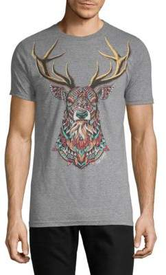 Riot Society Ornate Deer Graphic Tee