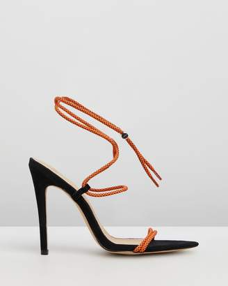 Missguided Rope Pointed Toe Heels