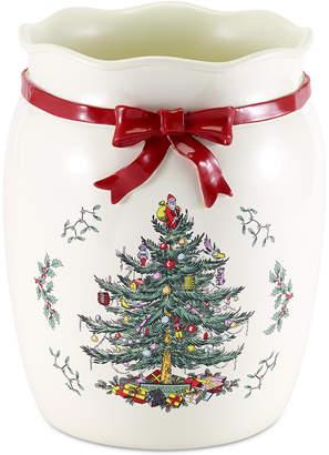 Avanti CLOSEOUT! Spode Christmas Tree Wastebasket
