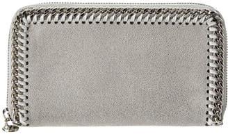 Stella McCartney Falabella Shaggy Deer Zip Around Wallet
