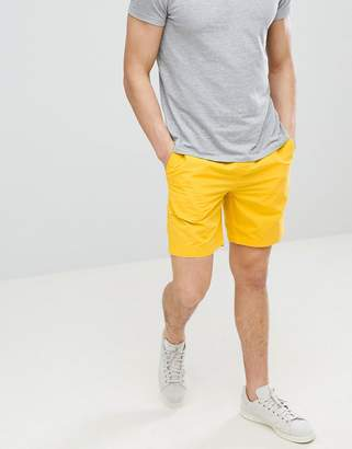 Jack Wills Cober drawstring short in yellow
