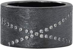Todd Reed Diamond X Ring