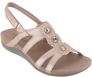 Clarks Embellished Adjustable Sandals -Pical Serino