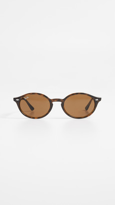 Ray-Ban RB4315 Skinny Oval Sunglasses
