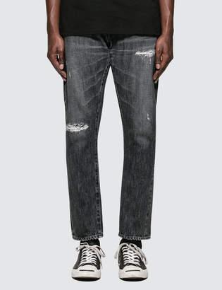 Denim By Vanquish & Fragment Black Remake Tapered Denim Jeans