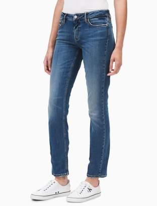 Calvin Klein straight leg sandy wash jeans